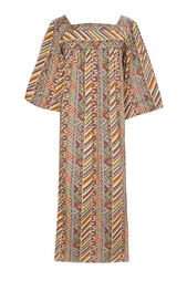 Хлопковое платье (70-е гг.) Yves Saint Laurent Vintage