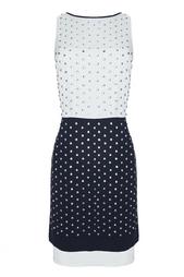 Шелковое платье Abrielle Crystal Diane von Furstenberg
