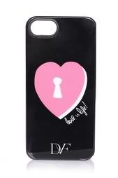 Чехол для iPhone 5/5S Lock Heart Diane von Furstenberg