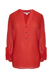 Шелковая блузка Syrah Diane von Furstenberg