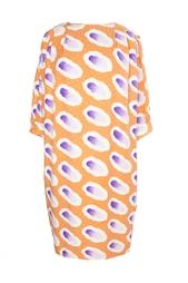 Шелковое платье (80-е гг.) Emanuel Ungaro Vintage