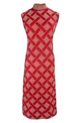 Платье из вискозы (70-е гг.) Balmain