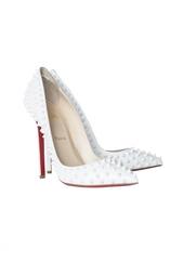 Кожаные туфли Pigalle Spikes 120 Patent Christian Louboutin