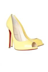 Кожаные туфли Flo 120 Patent Christian Louboutin