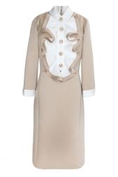 Платье из искусственного шелка Marc Jacobs