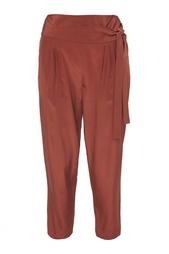 Шелковые брюки Diane von Furstenberg