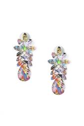 Серьги из кристаллов, смолы и металла Tom Binns