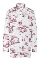 Хлопковая блуза Carven