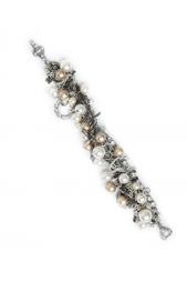 Браслет из кристаллов, смолы и металла Tom Binns