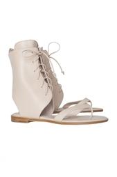 Кожаные сандалии Vestalashozi Manolo Blahnik