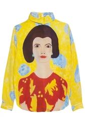 Шелковая блузка Tata Naka