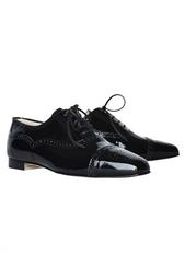 Кожаные ботинки Bath Manolo Blahnik