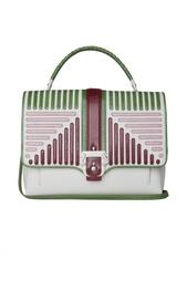 Кожаная сумка Paula Cademartori
