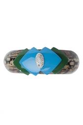 Браслет из латуни, камней и кристаллов Lulu Frost