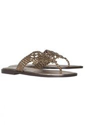 Кожаные сандалии Girella Manolo Blahnik
