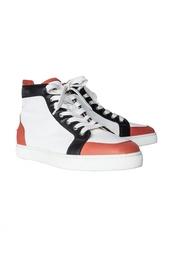 Кожаные ботинки Rantus Flat Calf/Calf Morphe Christian Louboutin