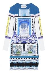 Платье из вискозы Mary Katrantzou
