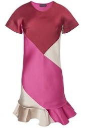 Платье из полиэстера и шелка Ostwald Helgason