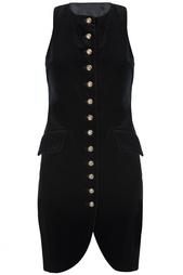 Бархатное платье (90-е гг.) Anna Sui Vintage