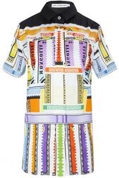 Хлопковая блузка Mary Katrantzou