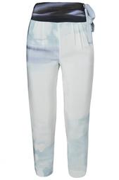 Шелковые брюки Keaka Diane von Furstenberg