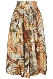 Хлопковая юбка (80-е гг.) Escada Vintage