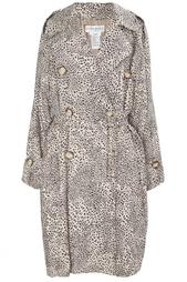 Шелковое пальто (80-е гг.) продано Yves Saint Laurent Vintage