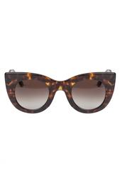 Солнцезащитные очки в леопардовой оправе Orgasmy Thierry Lasry