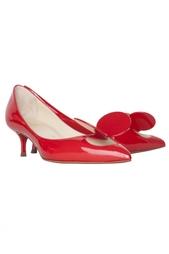 Кожаные туфли Madame Mouse 45 Patent Christian Louboutin
