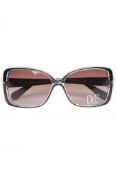 Солнцезащитные очки в темной оправе Josalyn Diane von Furstenberg