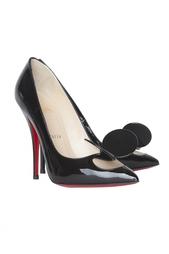 Кожаные туфли Madame Mouse 120 Patent Christian Louboutin