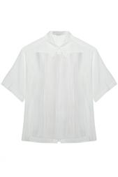 Блузка из хлопка и шелка Stella Mc Cartney