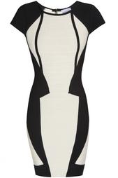 Облегающее платье из вискозы и нейлона Akira Hervé Léger