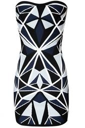 Платье из вискозы и нейлона Jamari Hervé Léger