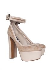 Кожаные туфли Rochas
