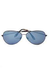 Солнцезащитные очки с синими стеклами Victoria Beckham