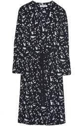 Шелковое платье (70-е гг.) Yves Saint Laurent Vintage