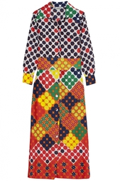 Платье из вискозы (70-е гг.) - нет в наличии Lanvin Vintage