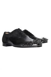Кожаные туфли Tyronito Flat Calf Brosse/Veau Velours Christian Louboutin