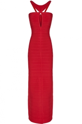 Платье из вискозы, нейлона и спандекса Lola Hervé Léger