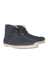Кожаные ботинки Сadaques Flat Nid D'Abeille/Rope Christian Louboutin