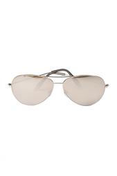 Солнцезащитные очки в  золотой оправе Victoria Beckham