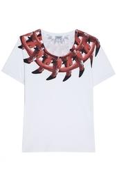 Хлопковая футболка Marcelo Burlon