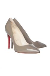 Кожаные туфли Pigalle 100 Patent Calf Christian Louboutin