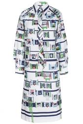 Шелковое платье (70-е гг.) Lanvin Vintage