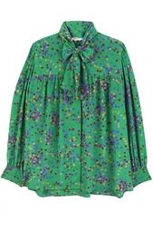 Шелковая блузка (80-е гг.) Yves Saint Laurent Vintage