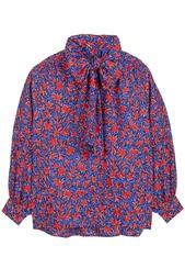 Шелковый костюм (70-е гг.) Yves Saint Laurent Vintage
