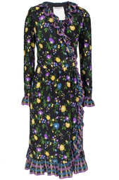 Шелковое платье(70-е гг.) продано Yves Saint Laurent Vintage
