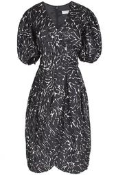 Шелковое платье(80-е гг.) Yves Saint Laurent Vintage