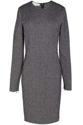Платье  из шерсти, хлопка и вискозы Stella Mc Cartney